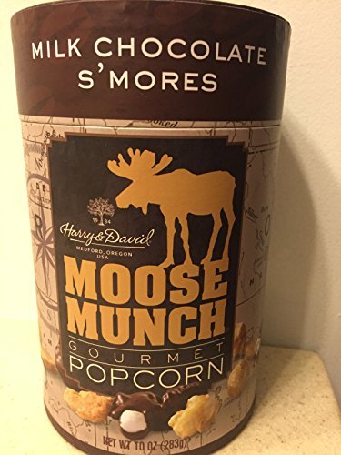 Harry & David, Moose Munch Gourmet Popcorn, Milk Chocolate S'mores, 10 Oz. (Moose Munch Milk Chocolate compare prices)