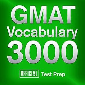 Official GMAT Vocabulary 3000 Audiobook