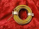 Modelo de tren, tren de hilo 2-colour 5 M anillo amarillo/Marrón
