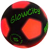 Light Up LED Soccer Ball Black Limited Edition