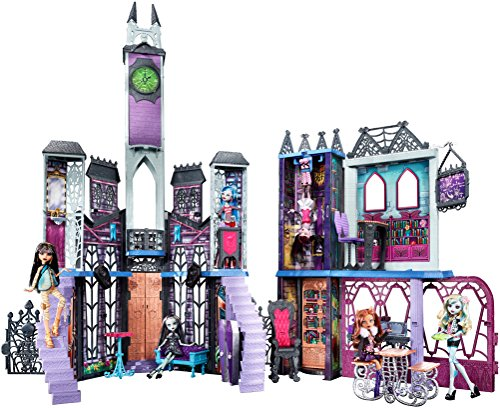 Monster High Deadluxe High School Playset JungleDealsBlog.com