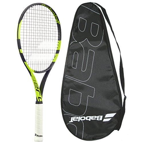 Babolat 2016 AeroPro Team - Pure Aero Team - STRUNG with COVER - Tennis Racquet