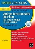 echange, troc Jean-Pierre Carrier - Hatier Concours - Agir en fonctionnaire de l'Etat et de façon éthique et responsable