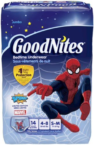 Goodnites Underwear - Boy - Small - 14 ct - 1
