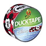 Duck Brand 281967 Disney-Licensed Mickey Mouse Printed Duct Tape, 1.88 Inches x 10 Yards, Single Roll