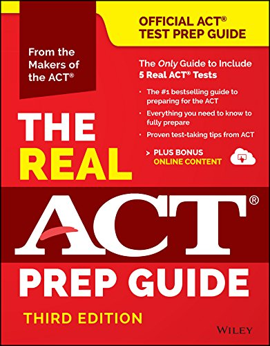 Download The Real ACT Prep Guide (Book + Bonus Online Content), (Reprint) (Official Act Prep Guide)