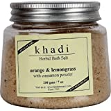 Khadi Herbal Bath Salt(Rose And Geranium) 200 Gm