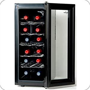 Koolatron Slim 12 Bottle Wine Cooler