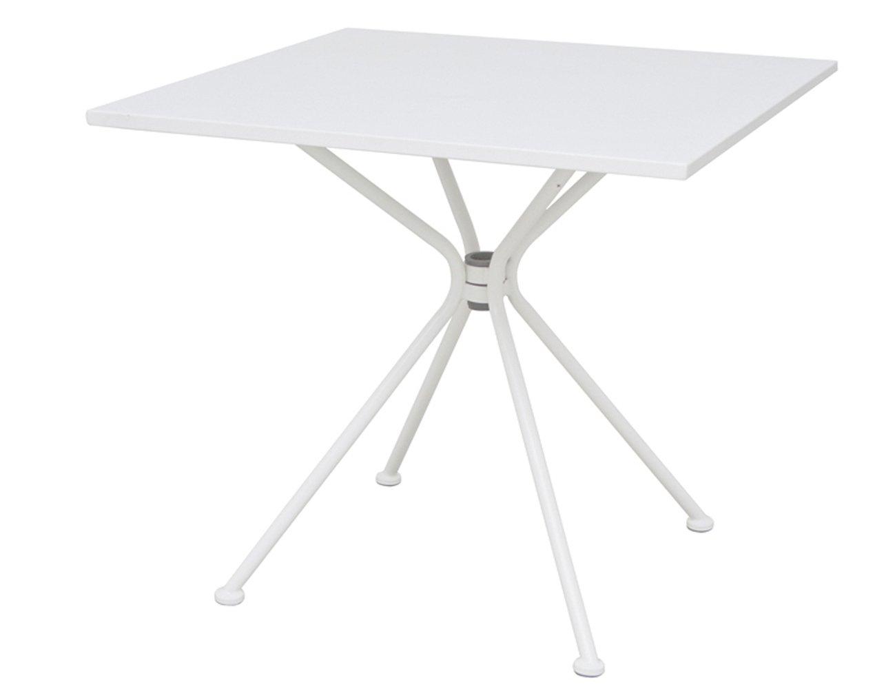Siena Garden 800702 Tisch Belo, Stahlgestell matt weiß, 80 x 80 x 72 cm bestellen