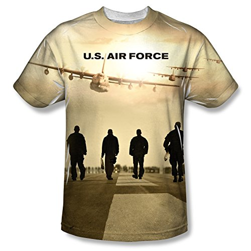 U.S. Air Force Long Walk All Over Front T-Shirt AF103