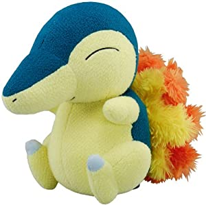 Cyndaquil Pokemon Talking Plush 10