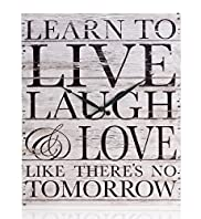 Live Laugh & Love Wall Clock