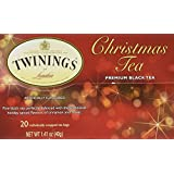 Twinings Black Tea, Christmas, 20 Count