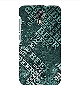 ColourCraft Typography Back Case Cover for MICROMAX CANVAS XPRESS 2 E313