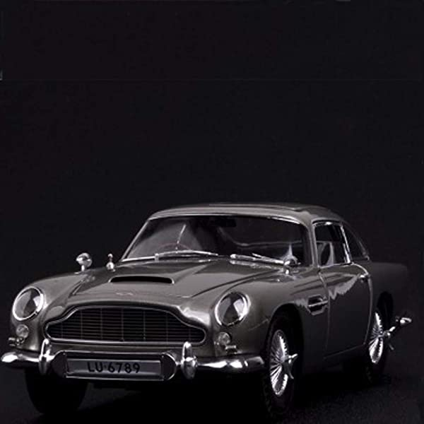 PENGJIE-Model 1:18 Aston Martin DB5 Simulation Alloy Car Model Fine Edition Car Model (Color : Refined Version) (Color: Refined Version)