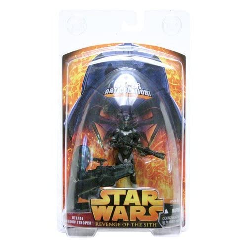 Star Wars: Revenge of the Sith Utapau Shadow Trooper (Super-Articulated) Action Figure by Hasbro Inc (English Manual) als Geschenk