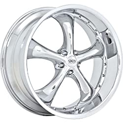 Status Retro 17 Chrome Wheel / Rim 5×4.75 with a 0mm Offset and a 74.1 Hub Bore. Partnumber S818GK5I00CA74