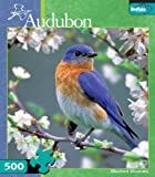 Audubon: Bluebird Blossoms 500pc Jigsaw ...