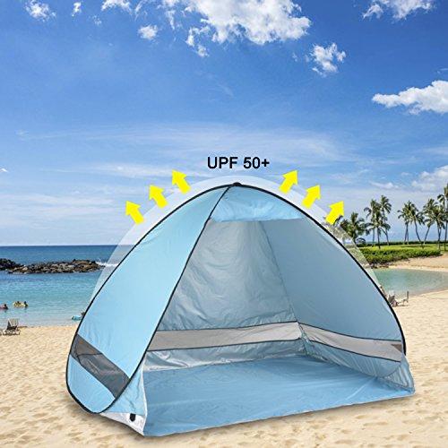 sc 1 st  C&stuffs & Michael Josh Portable and Foldable Pop-up Anti UV Nylon Beach Tent ...