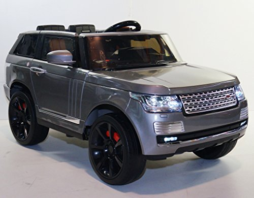 electric ride on car toy for kids range rover style rov sc6628 dark gray