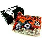 Spooky Eyes Gluten Free Bubble Gum, 29 oz Bag in a BlackTie Box