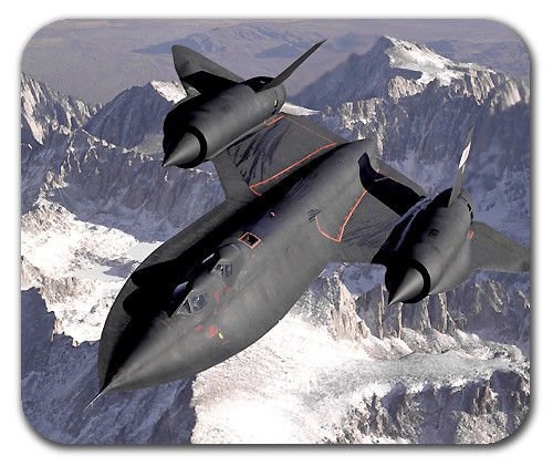 Buy Lockheed SR-71 Blackbird Aircraft U.S. Air Force Mouse Pad Mat on Amazon.com