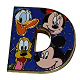 Disney Parks Collection Letter D Collector Pin