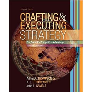 Crafting Executing Strategy Th Solutions Manual Pdf