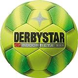 Derbystar Fußball Indoor Beta, Gelb/Grün, 5, 1054500540