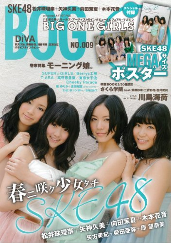 ARTIST FILE BIG ONE GIRLS NO.009 表紙・巻頭特写SKE48