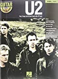 U2 - Guitar Play-Along Volume 121 (Book/Cd) (1423475232) by U2