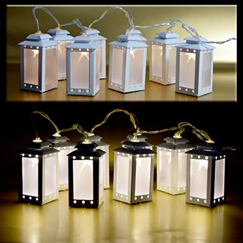 900-LED-8er-Laternen-Hologram-Warmweiss-Lichtkette-Dekoration-Partykette