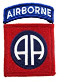 82nd Airborne Dress Patch with Airborne Tab