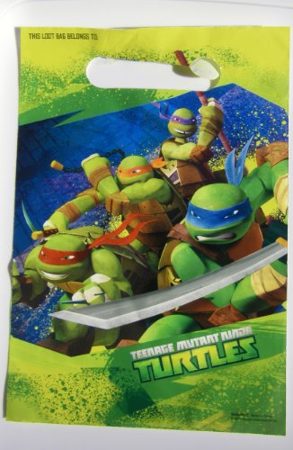 Purchase Teenage Mutant Ninja Turtles Loot Bags 8 Bags