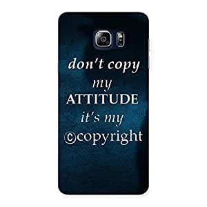 Attitude Back Case Cover for Galaxy Note 5