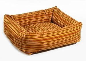 Dutchie Dog Bed Size: XX-Large, Color: Sunset Stripe