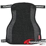 コミネ(Komine) AK-109 3D Air Mesh Seat Cover Anti-Slip BLACK Slim09-109