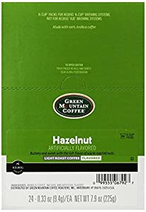 Green Mountain Coffee Hazelnut, K-Cup for Keurig Brewers