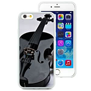 6 Phone cases, Violin Shoes Mood Music White iPhone 6 4.7 inch TPU cell phone case