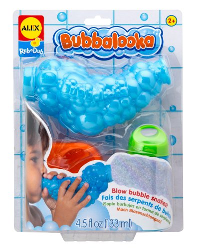 ALEX Toys Rub a Dub Bubbalooka Bubble Snake Blower