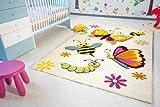 Kinder Teppich Spring – Little Carpet Kinderteppich – beige – Öko-Tex, Größe: 150×225 cm