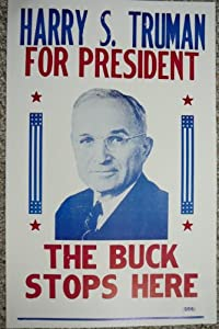 Amazon.com: Harry S. Truman for President Poster: Prints: Posters