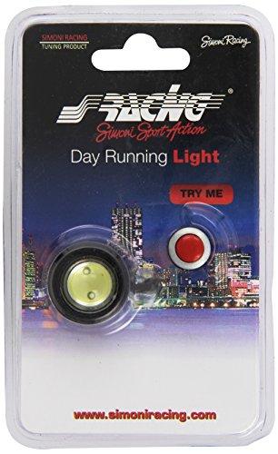 Simoni Racing Spa DL/21W Puissance Élevée LED Lumière du Jour, 2 W, Dia 2,5 cm