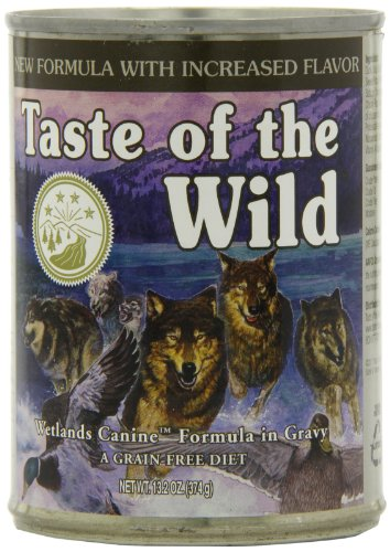 Taste of the Wild Wetlands Grain-Free Canned Dog Food (12/13.2oz cans)