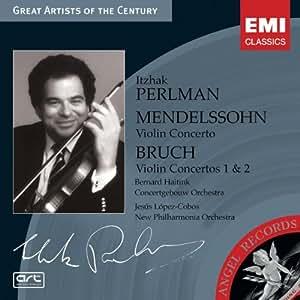 Mendelssohn : Concerto Pour Violon Op.64 - Bruch : Concertos Pour Violon