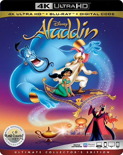 4K Blu-ray : Aladdin: Signature Collection (2 Discos)