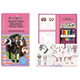English Style Equestrian Sketchbookby Fashion Angels