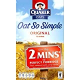 Quaker Oat So Simple Original 324g