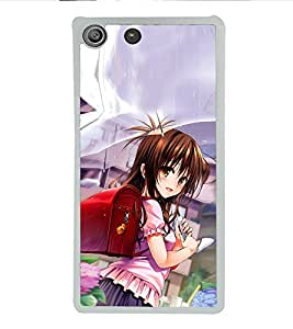 ifasho Designer Phone Back Case Cover Sony Xperia M5 Dual :: Sony Xperia M5 E5633 E5643 E5663 ( Beautiful Couple love kiss )