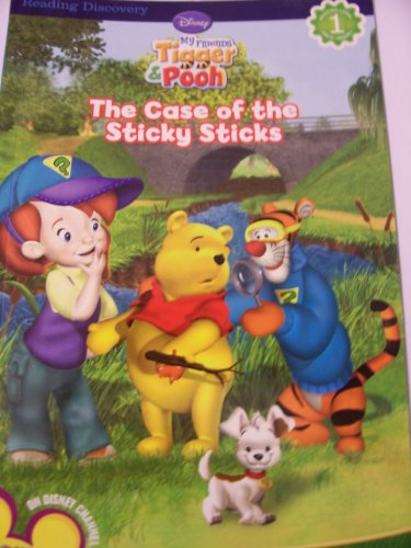 Reading Discovery Level 1 Reader ~ Disney My Friends Tigger & Pooh (The Case of the Sticky Sticks) - 1